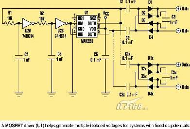 简单的隔离电源 - 通信频道 - it168.com
