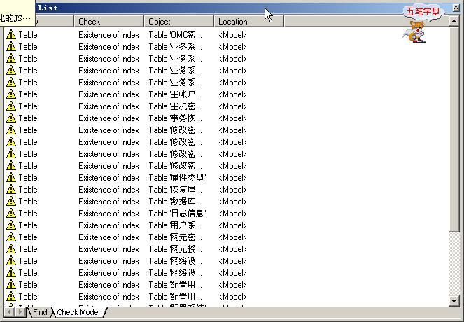 PowerDesigner一些小技巧 - shang_jack2000 - 技术交流