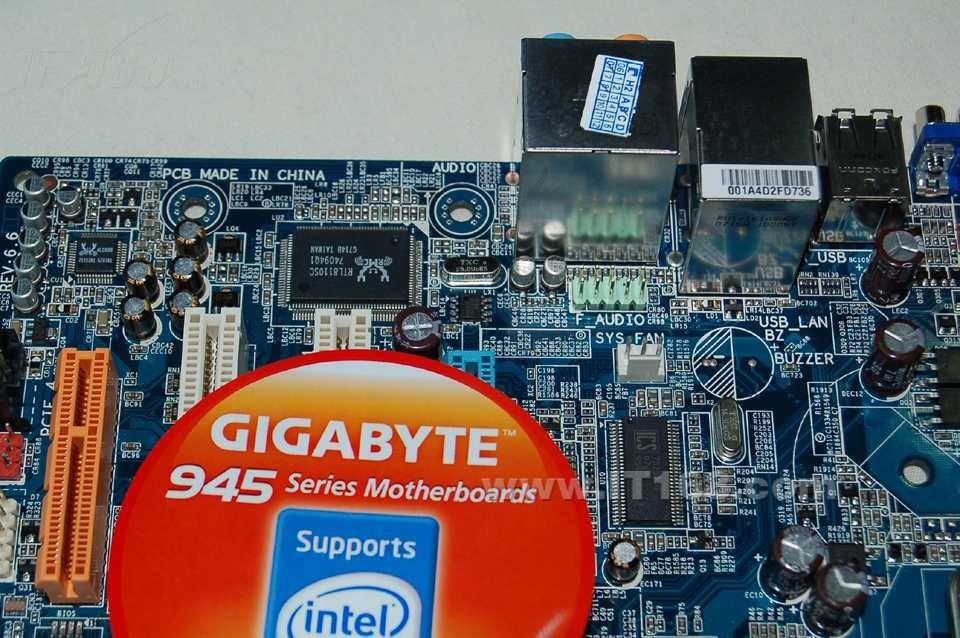 技嘉945gcmx-s2(rev. 6.6)主板产品图片15