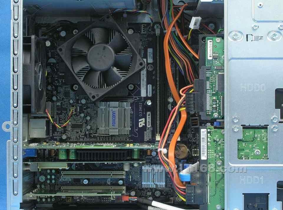 戴尔台式电脑有个电路板上的小风扇是什么