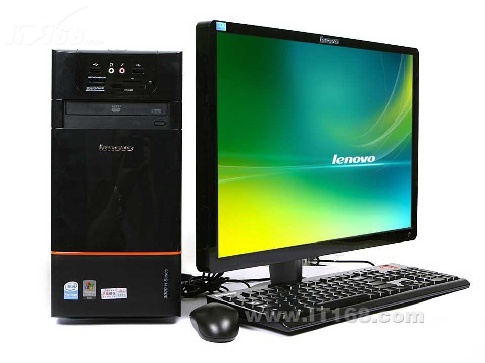 联想家悦3000 ha3500(pd e5200 2g32gd-vb)台式机产品图片1图片