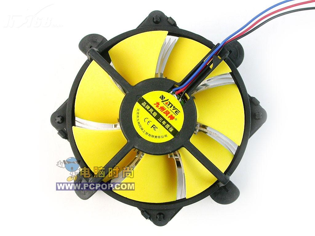 九州风神Winner540散热器产品图片4素材 IT168散热器图片大全