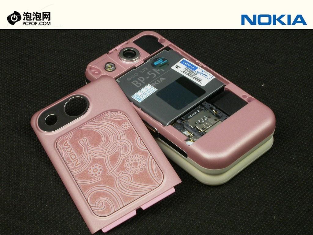 诺基亚7390手机产品图片75素材-it168手机图片大全