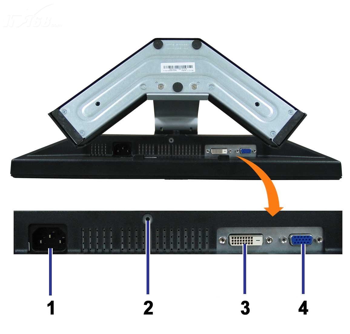 戴尔e198wfp液晶显示器产品图片4