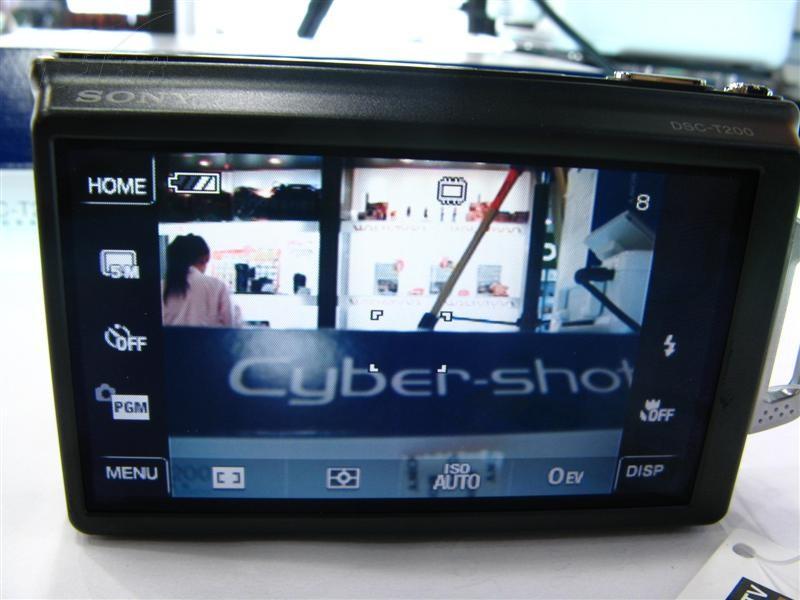 索尼T200数码相机产品图片51