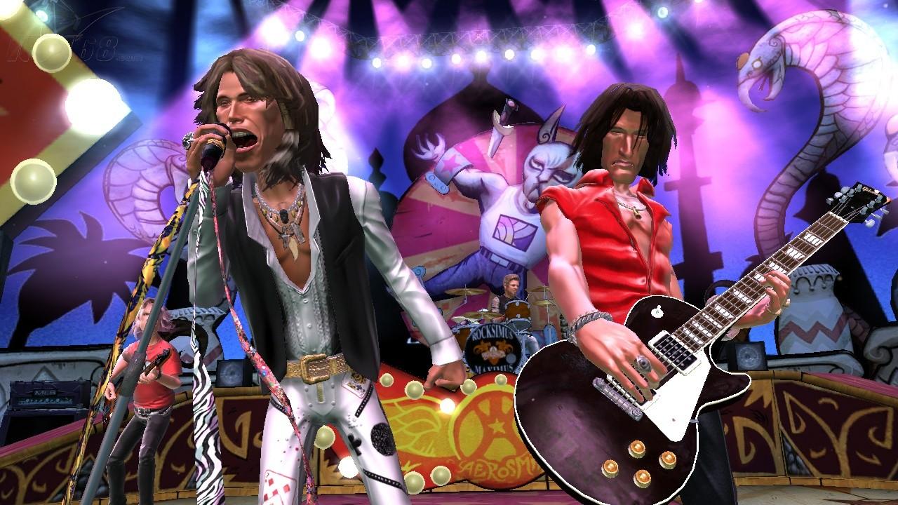 ps3游戏吉他英雄-空中铁匠乐队专辑(guitar hero: aerosmith)游戏机