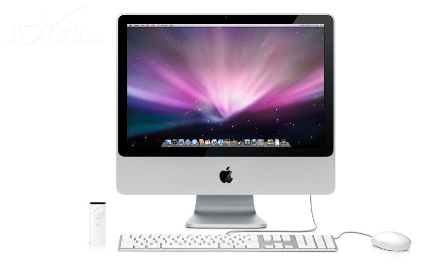 苹果imac (mb324ch/a)台式机产品图片12素材-it168机