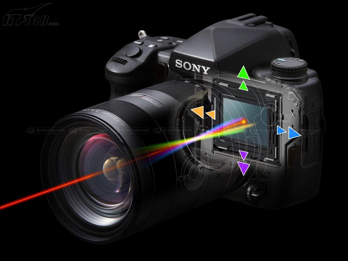 索尼a900内部构造图片4素材-it168数码相机图片大全