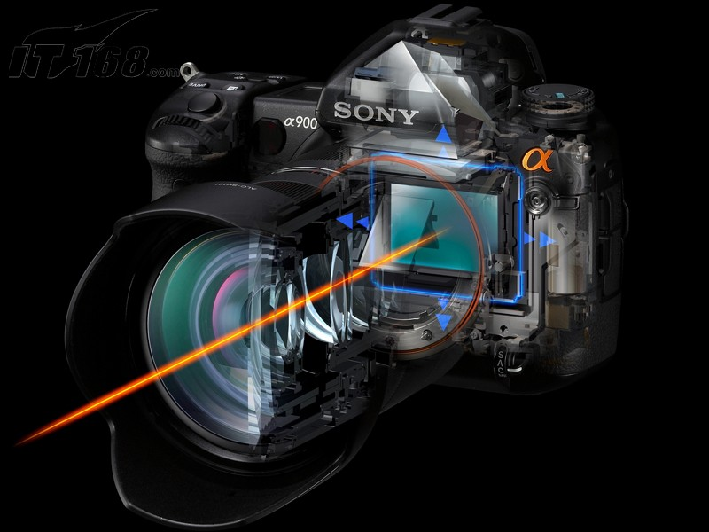 索尼a900内部构造图片11素材-it168数码相机图片大全