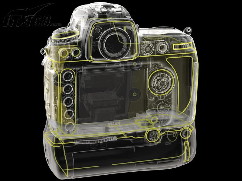 尼康d700内部构造图片5素材-it168数码相机图片大全
