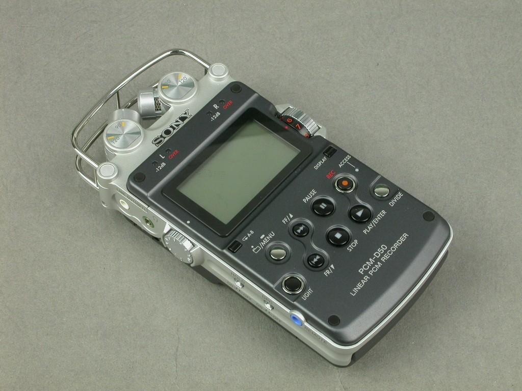 索尼pcm-d50(4g)录音笔产品图片23素材-it168录音笔