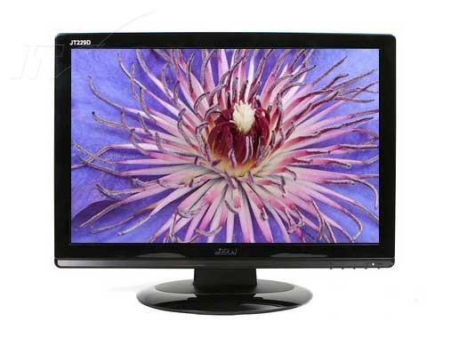 美齐jt229d液晶显示器产品图片1素材-it168液晶显示器