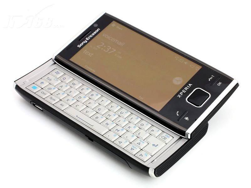 索尼爱立信x2侧滑全键盘图片素材-it168手机图片大全