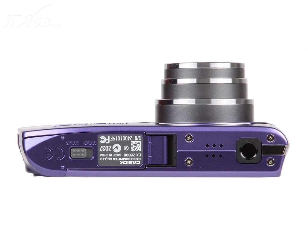 卡西欧z2000整体外观图图片6素材-it168数码相机图片