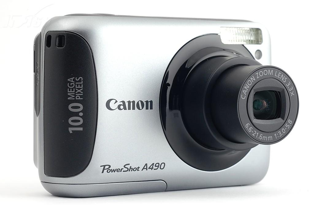 佳能a490数码相机产品图片19素材-it168数码相机图片