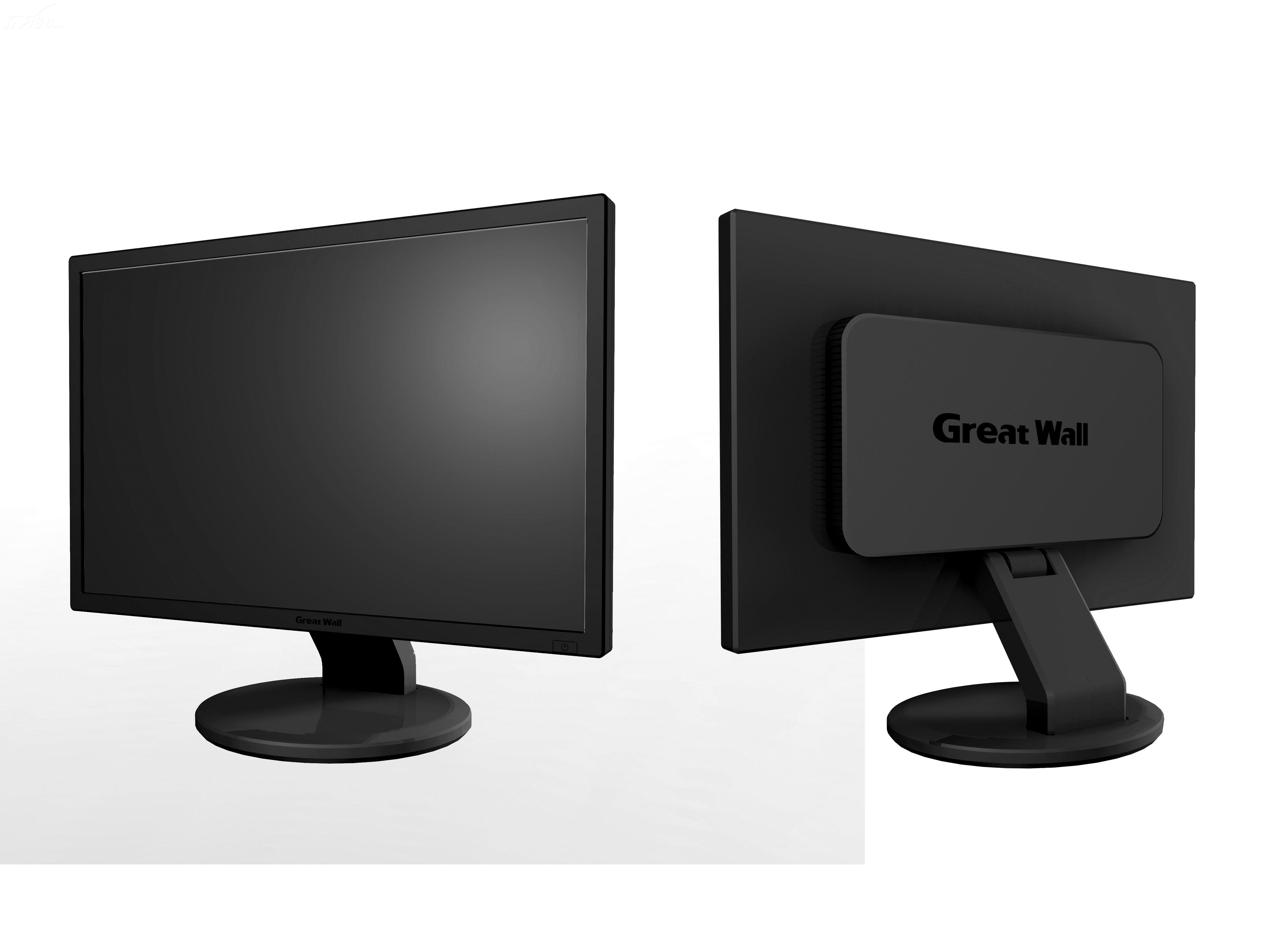 great wallz226液晶显示器产品图片7素材-it168液晶器