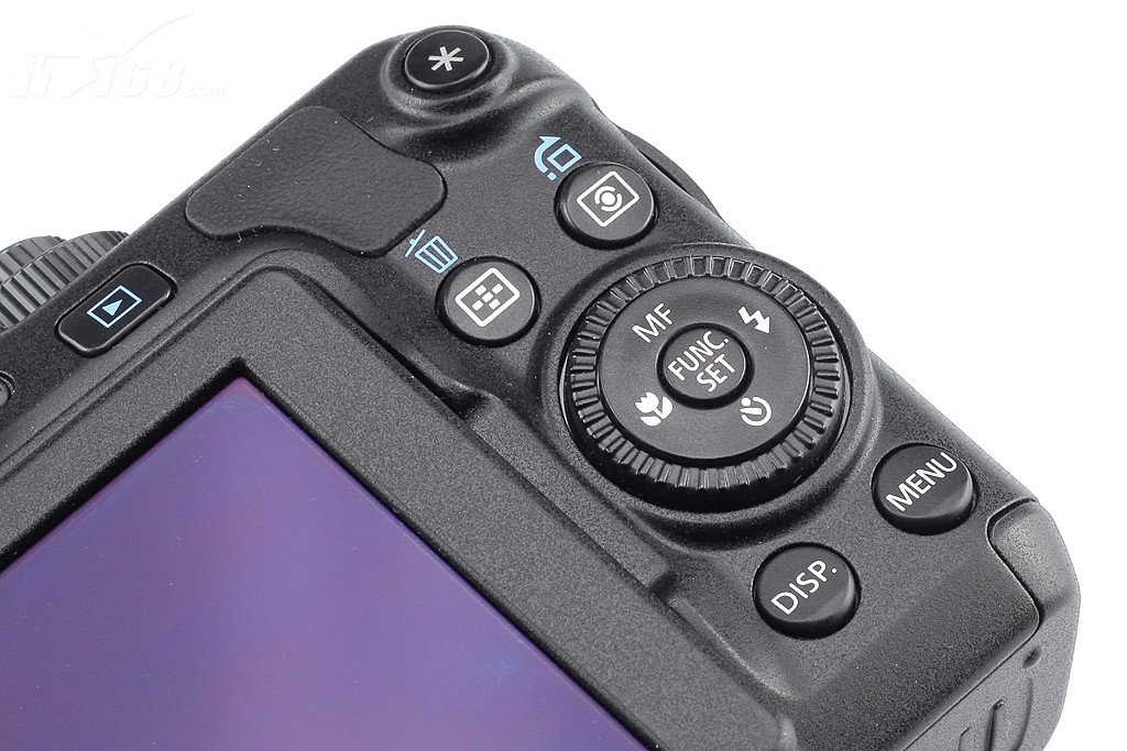 佳能 g12功能按键图片; 功能按键; 佳能g12外观图片3