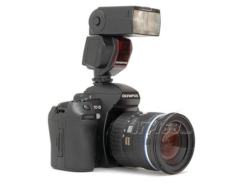 奥林巴斯e-5闪光灯图片素材-it168数码相机图片大全