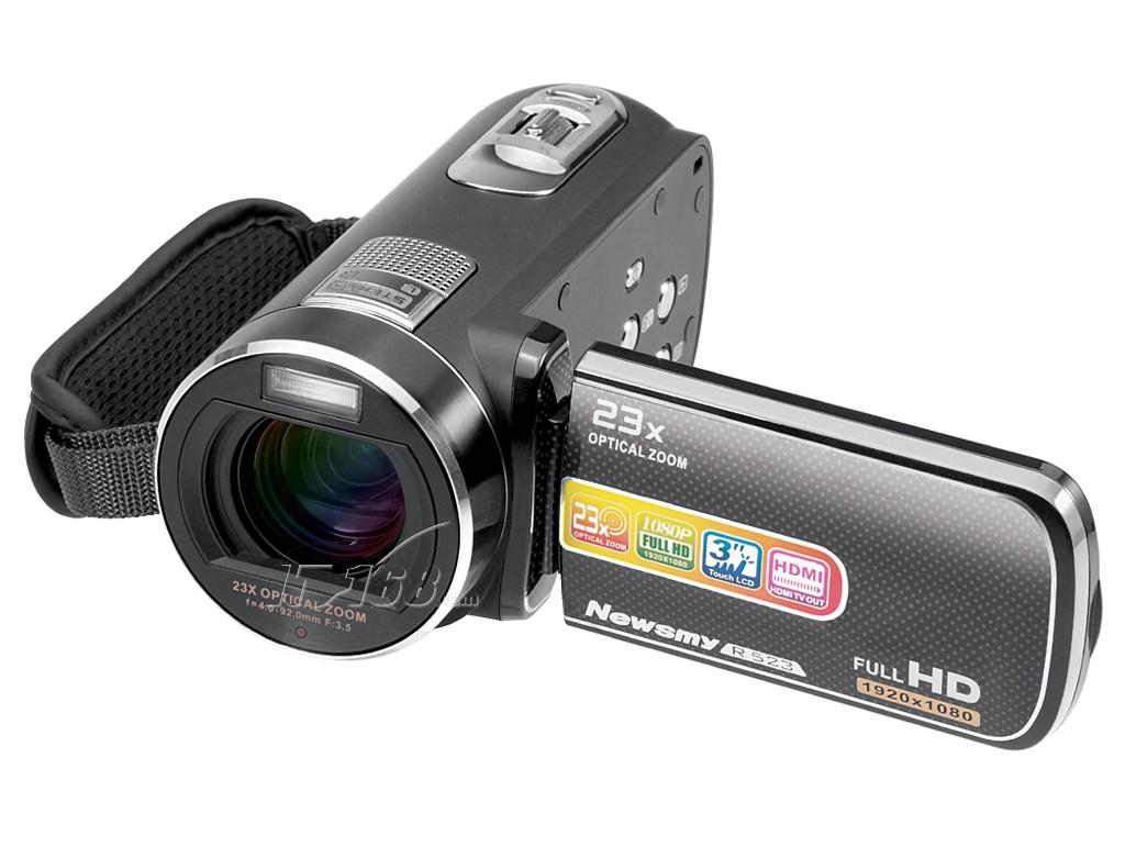 纽曼dv-r523数码摄像机产品图片3素材-it168数码摄像