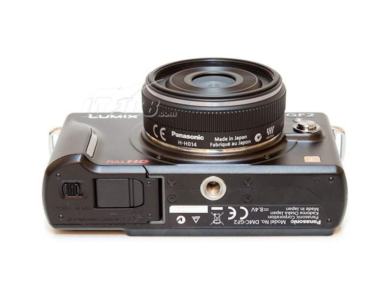 松下gf2套机(14-42mm)底部图片素材-it168数码相机