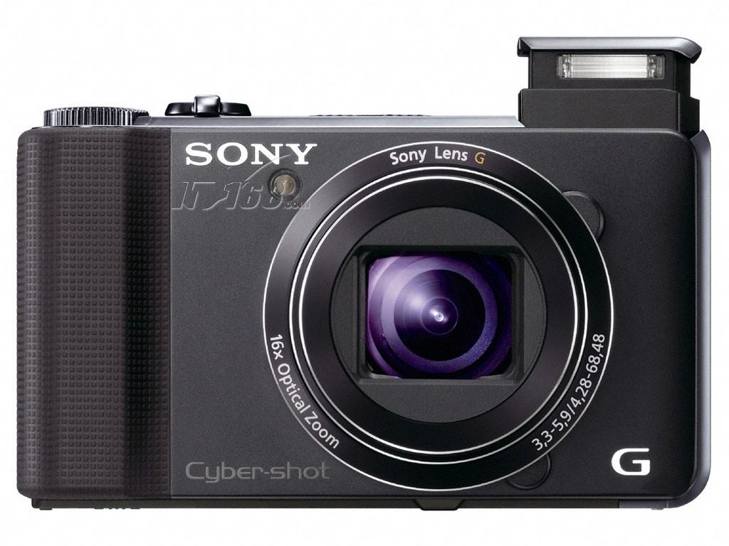 索尼hx9正面图片素材-it168数码相机图片大全