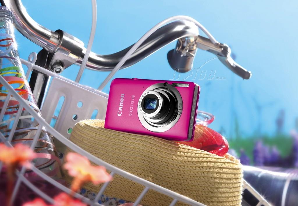 佳能ixus115 hs 数码相机 1210万像素 3英寸液晶屏 4倍光高清图片
