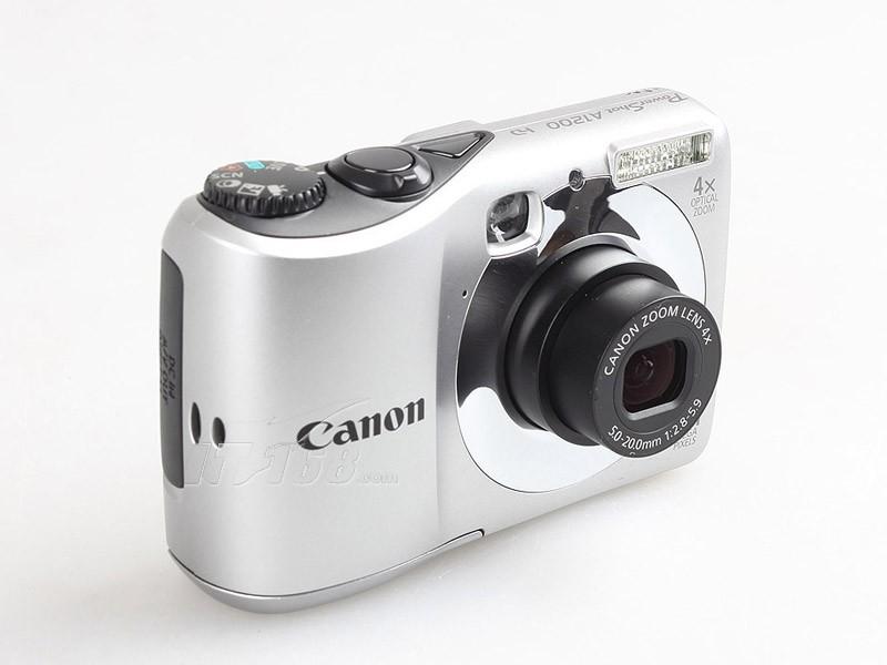 佳能a1200整体外观图图片7素材-it168数码相机图片大全
