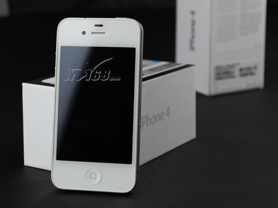 苹果iphone4 32g(白色版)手机产品图片46素材-it168
