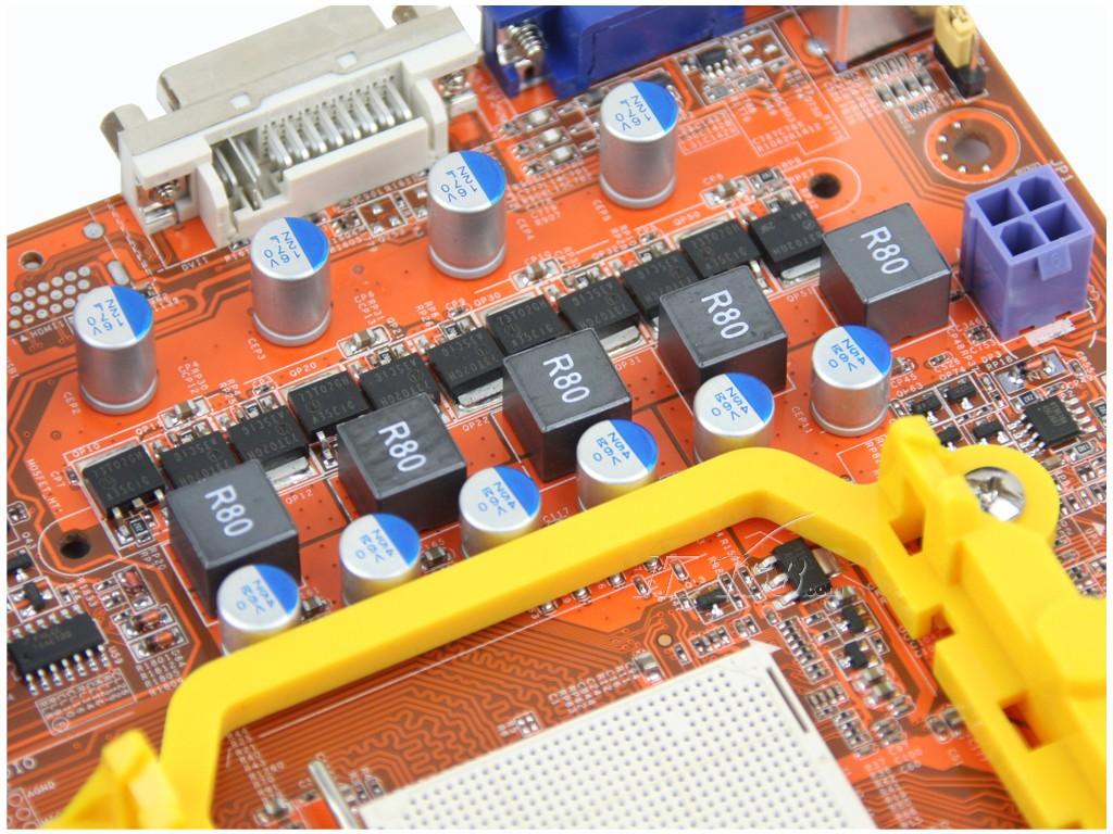梅捷SY A78M3 RL V2.0主板产品图片2素材 IT168主板图片大全图片
