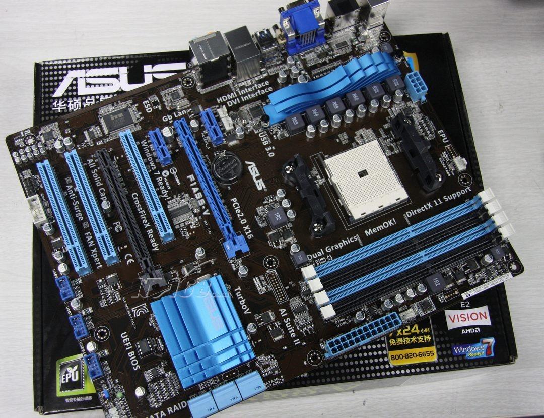 amd芯片组A55主板能支持什么样的cpu?