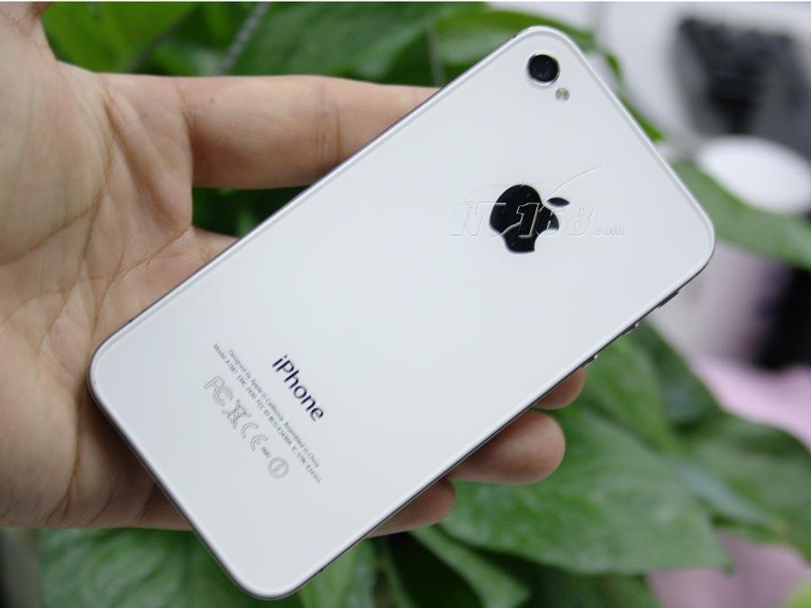 苹果iphone4s 16g白色图片4素材-it168手机图片大全