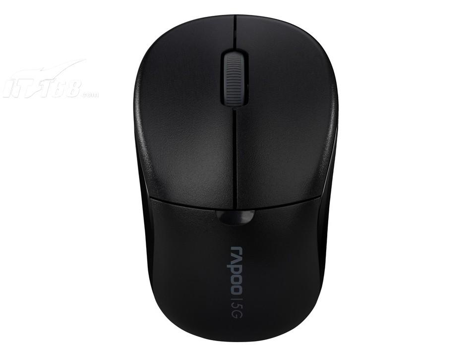 雷柏1090p精致版笔记本型(黑白)鼠标产品图片1素材-it