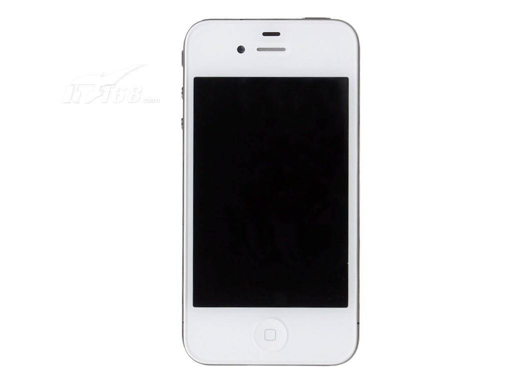 苹果iphone4 8g(白色)正面图片素材-it168手机图片