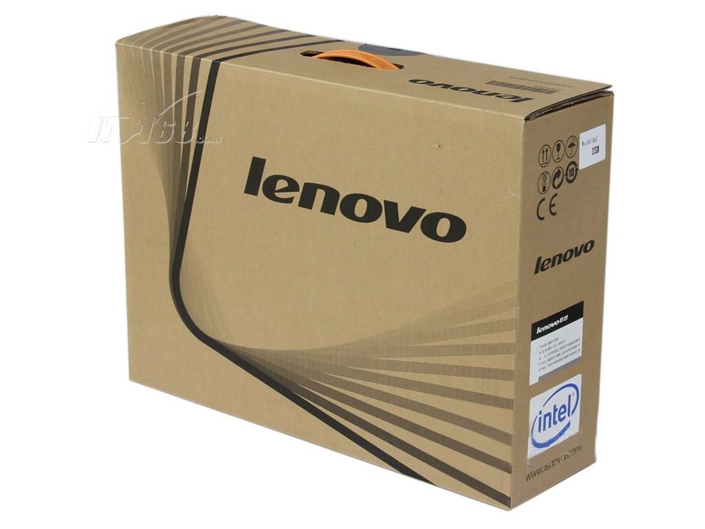 联想昭阳e46a(i3 370m/2g/500g)包装盒正面图片素材