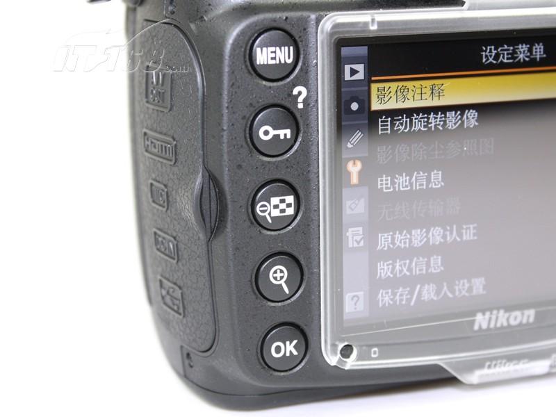 尼康d300s功能按键图片