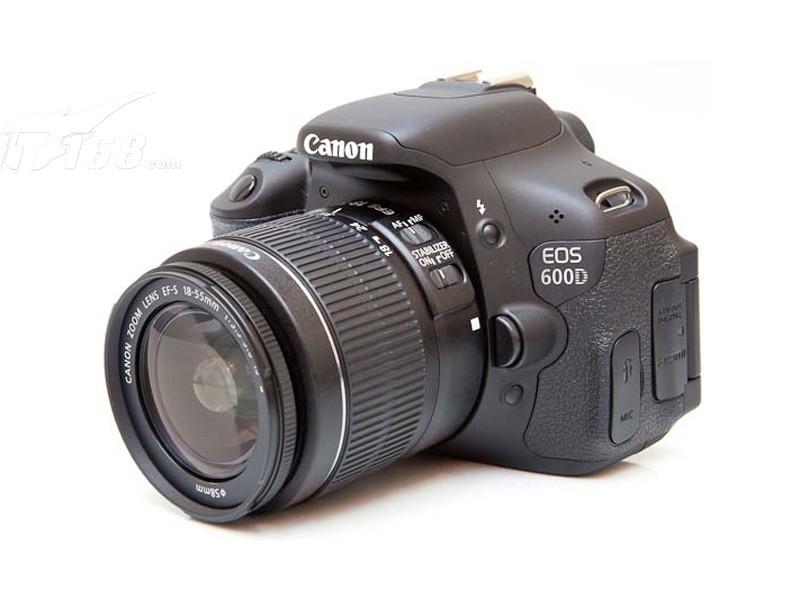 canon600d单反_佳能600D套机(18-55mm,55-250mm)数码相机产品图片86素材-IT168数码相机 ...