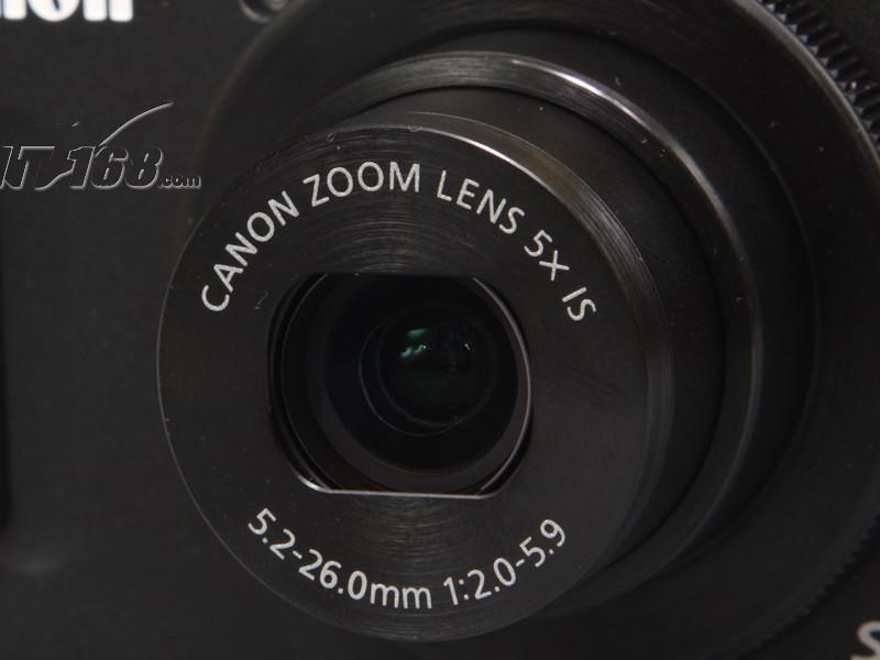 佳能s100v相机镜头图片素材-it168数码相机图片大全