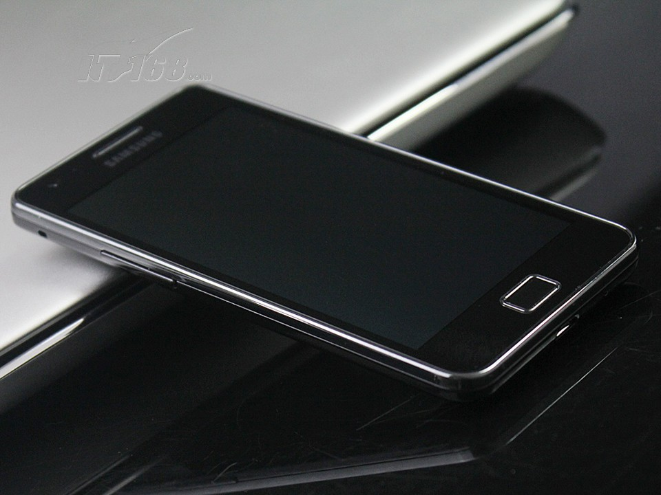 三星i9100g黑色图片8素材-it168手机图片大全