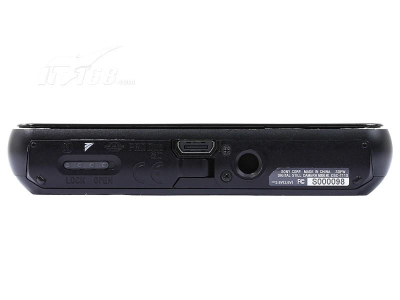 索尼t110底部图片素材-it168数码相机图片大全