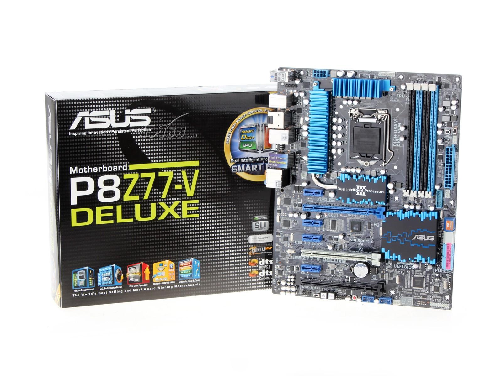 华硕p8z77-v deluxe主板产品图片24
