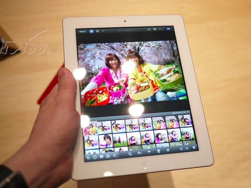 苹果新ipad(ipad3) 64gb白色图片26素材-it168平板
