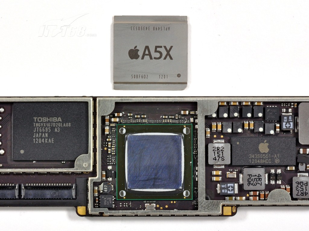 苹果新ipad(ipad3) 16gb拆机图片28素材-it168平板