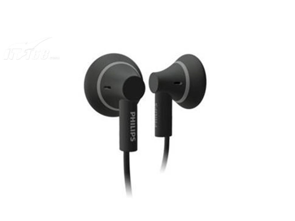 飞利浦PHILIPS SHE3000 平头塞 经典黑色 耳机产品图片1素材 IT168耳机图片大全