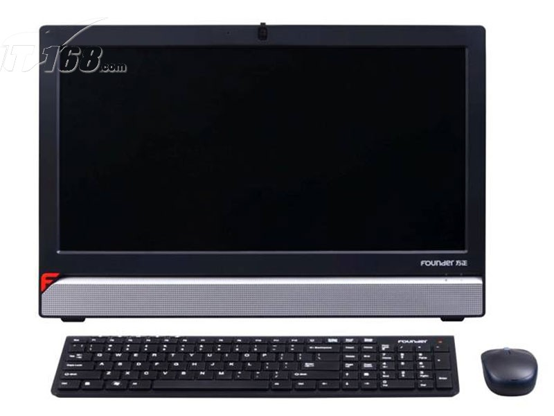 方正君逸 a410-s1一体电脑产品图片1素材-it168一体