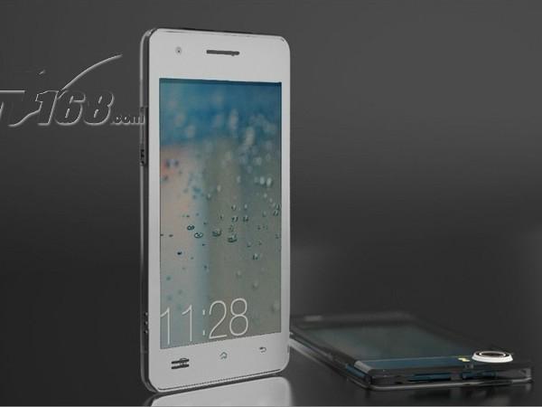 oppox907 finder白色图片1素材-it168手机图片大全