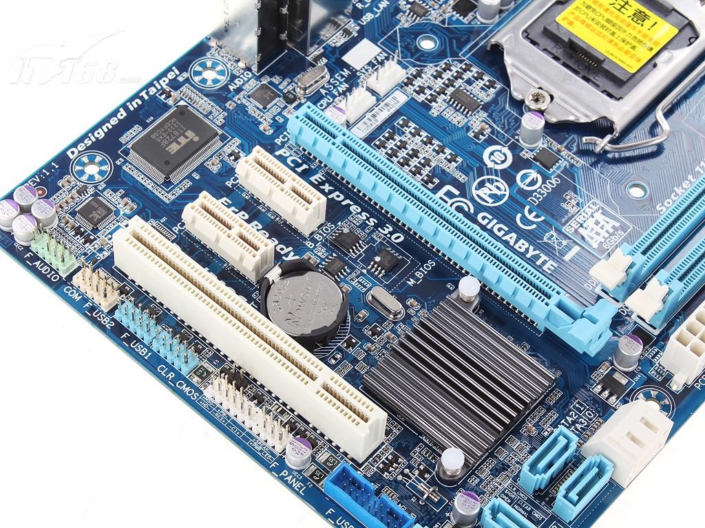 技嘉ga-b75m-d3v(rev.1.0)主板产品图片6