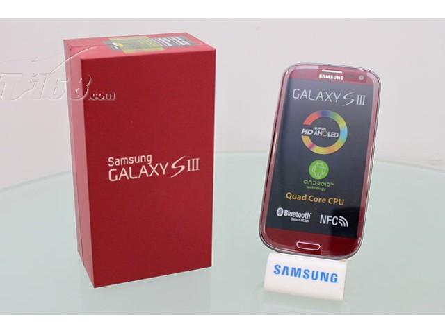 三星galaxy s3 i9300 16g联通3g手机(青玉蓝)wcdma/gsm欧版红色图片4