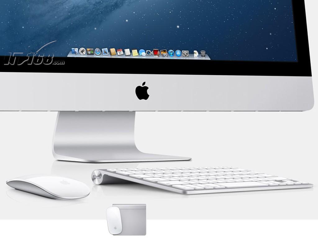 苹果imac(md096ch/a)一体电脑产品图片12素材-it168