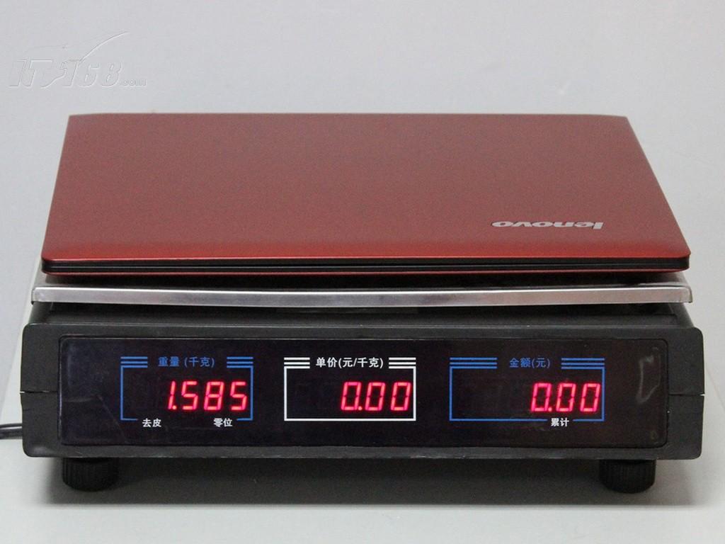 联想s405-afo(绚丽红)重量图片素材-it168笔记本图片