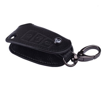 金邦真皮专车专用汽车钥匙包套 适用奥迪 .